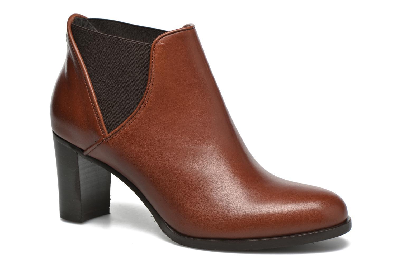 Bottines et boots COSMOPARIS Bamia Marron vue détail/paire