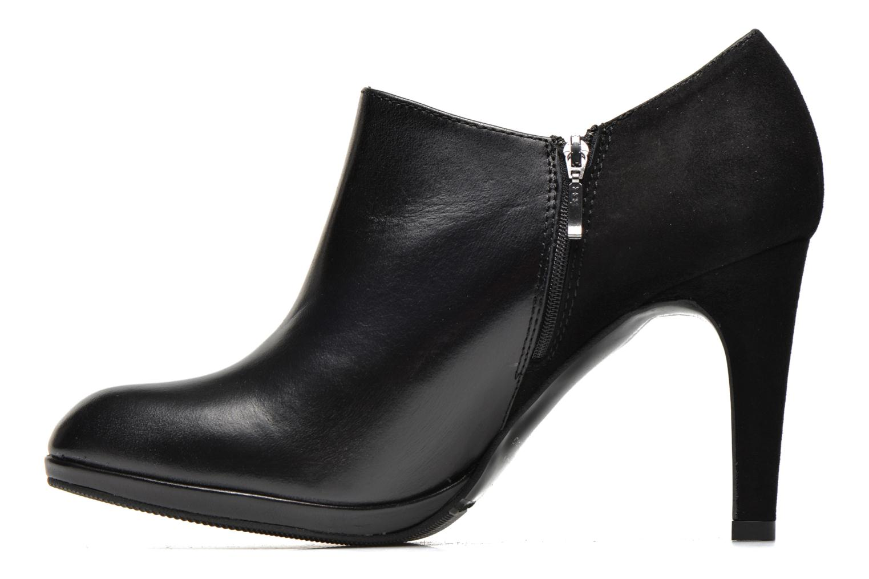 Bottines et boots COSMOPARIS Malay/bi Noir vue face