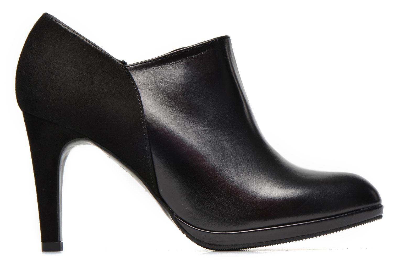 Bottines et boots COSMOPARIS Malay/bi Noir vue derrière