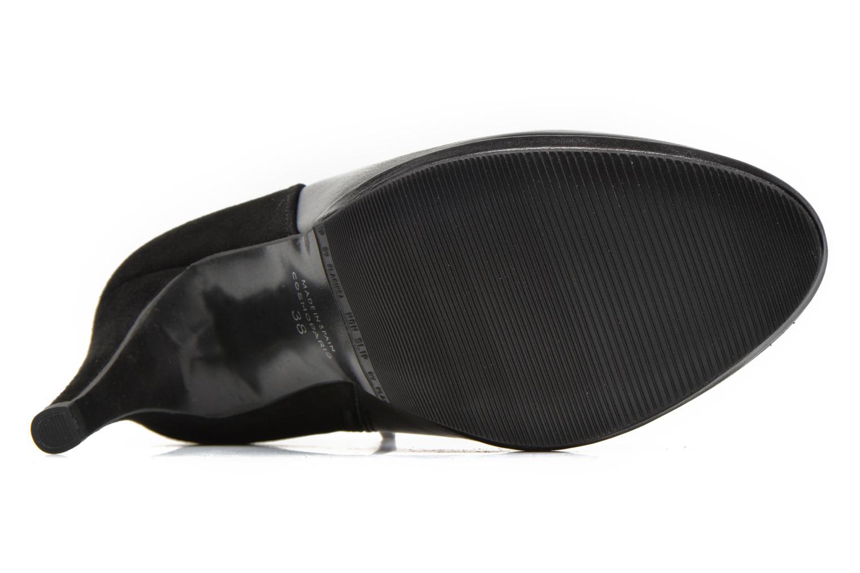 Bottines et boots COSMOPARIS Malay/bi Noir vue haut