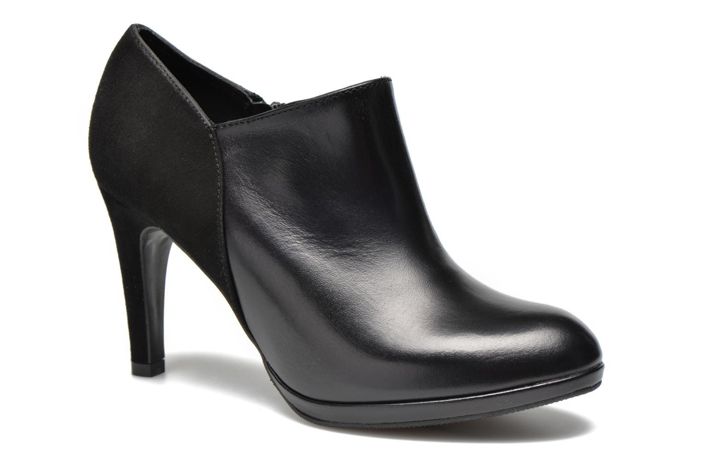 Bottines et boots COSMOPARIS Malay/bi Noir vue détail/paire