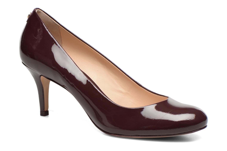 High heels COSMOPARIS Jennie Ver Prune Burgundy detailed view/ Pair view