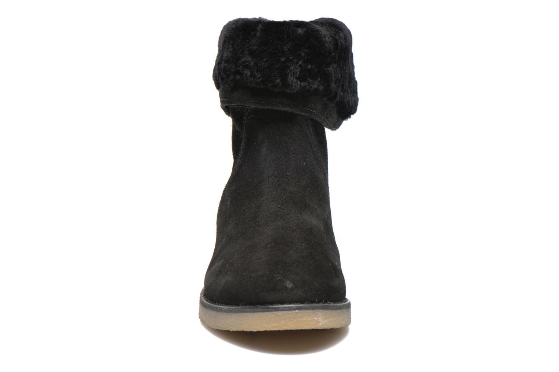 Bottines et boots COSMOPARIS Zuma Noir vue portées chaussures