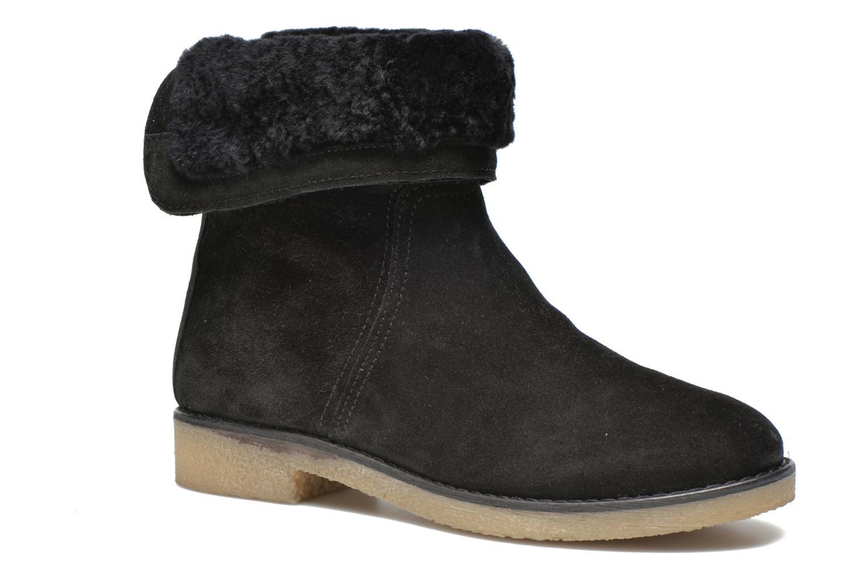 Bottines et boots COSMOPARIS Zuma Noir vue détail/paire