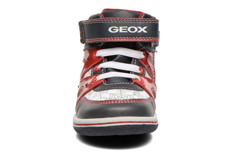 Baskets Geox B Flick B. C Multicolore vue portées chaussures
