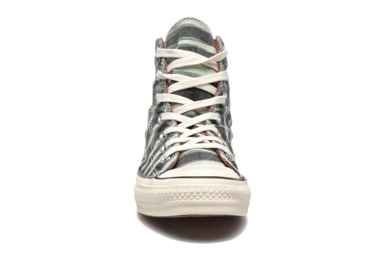 Sneaker Converse Chuck Taylor All Star Missoni Hi W grün schuhe getragen