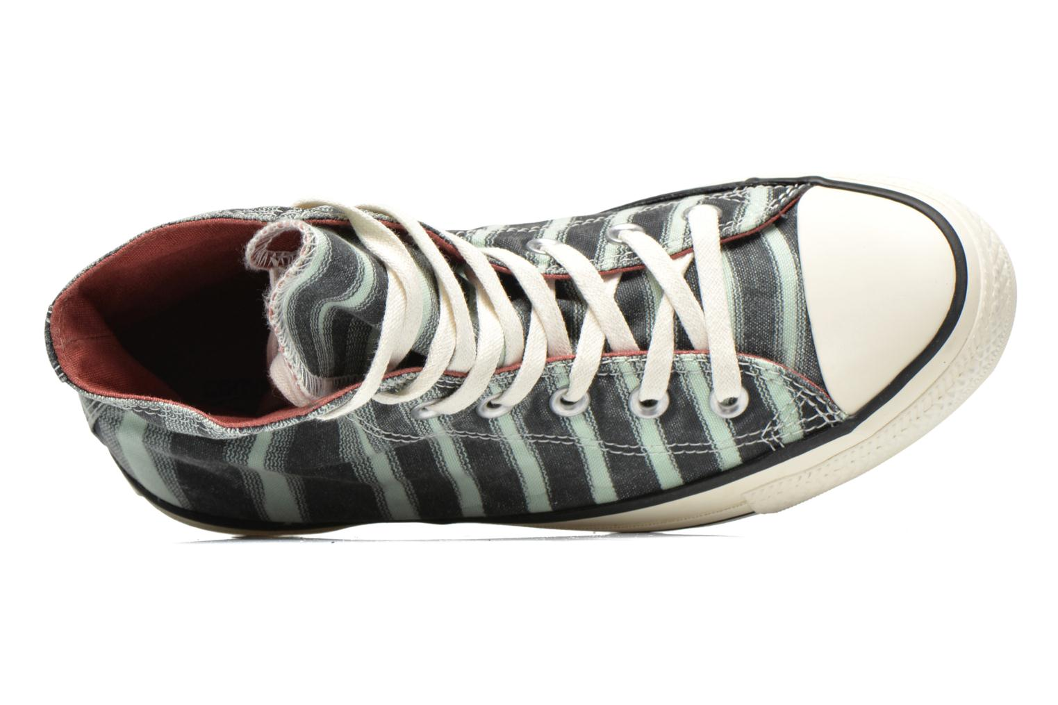 Trainers Converse Chuck Taylor All Star Missoni Hi W Green view from the left