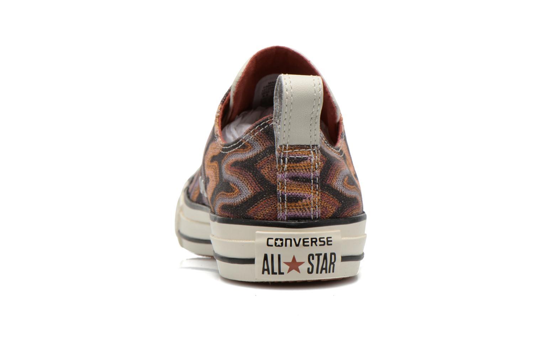 Baskets Converse Chuck Taylor All Star Missoni Ox W Multicolore vue droite