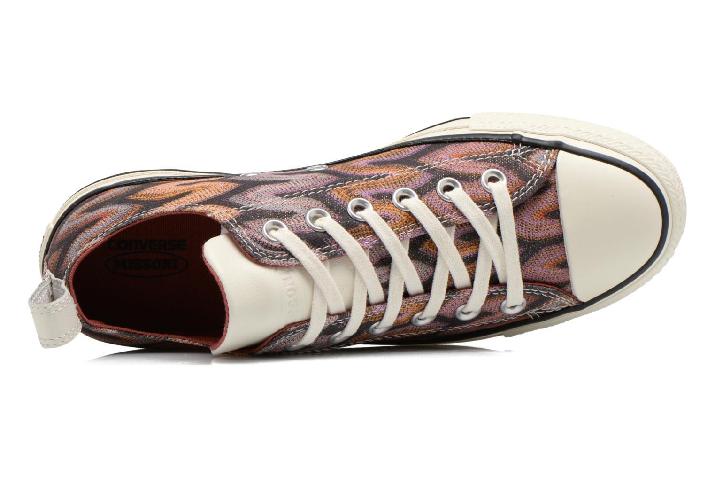 Baskets Converse Chuck Taylor All Star Missoni Ox W Multicolore vue gauche