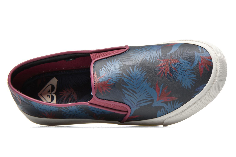 Baskets Roxy Juno Bleu vue gauche