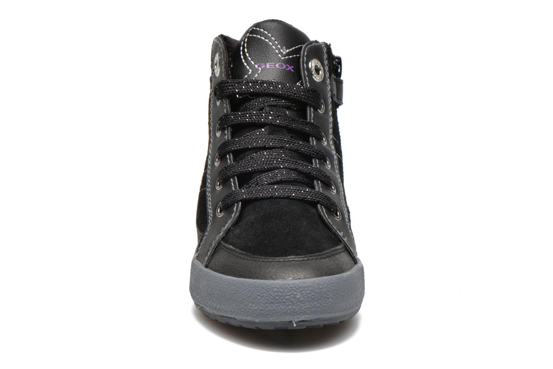 Baskets Geox J Witty A Noir vue portées chaussures