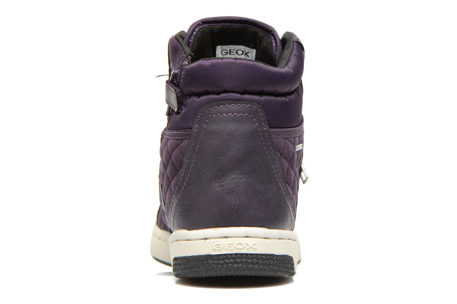 Trainers Geox J Creamy G Purple view from the right