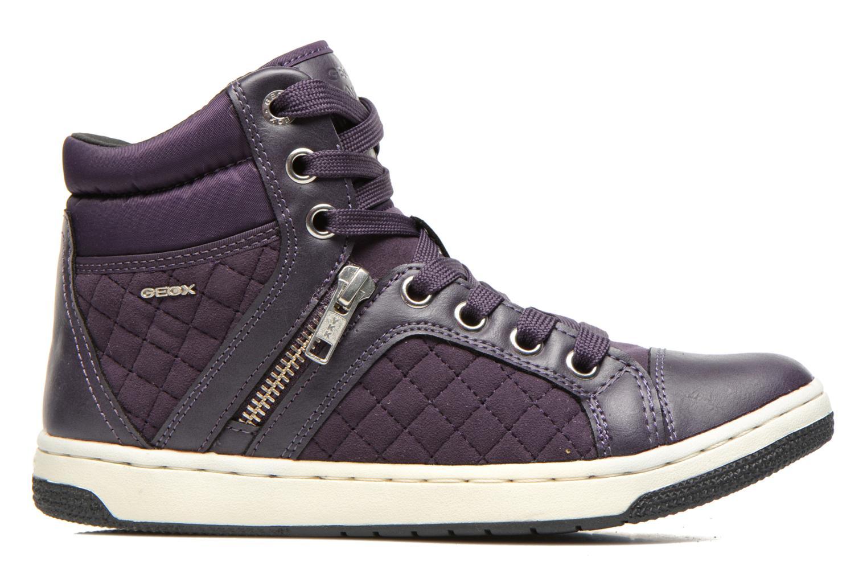 Sneakers Geox J Creamy G Viola immagine posteriore