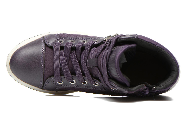 Sneakers Geox J Creamy G Viola immagine sinistra