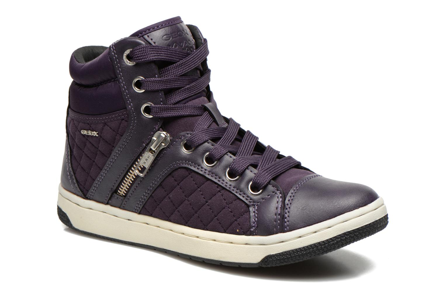 Trainers Geox J Creamy G Purple detailed view/ Pair view