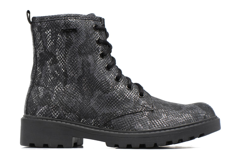 Boots en enkellaarsjes Geox J Casey G. K J5420K Zwart achterkant
