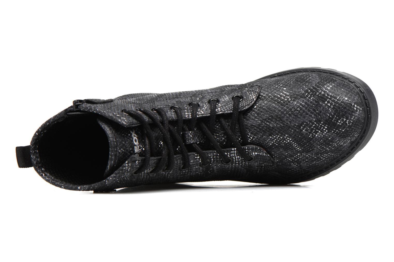 Boots en enkellaarsjes Geox J Casey G. K J5420K Zwart links