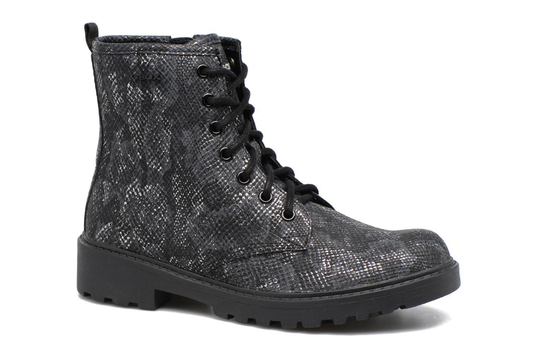 Boots en enkellaarsjes Geox J Casey G. K J5420K Zwart detail