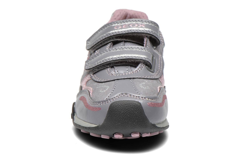 Sneaker Geox J N.Jocker G grau schuhe getragen