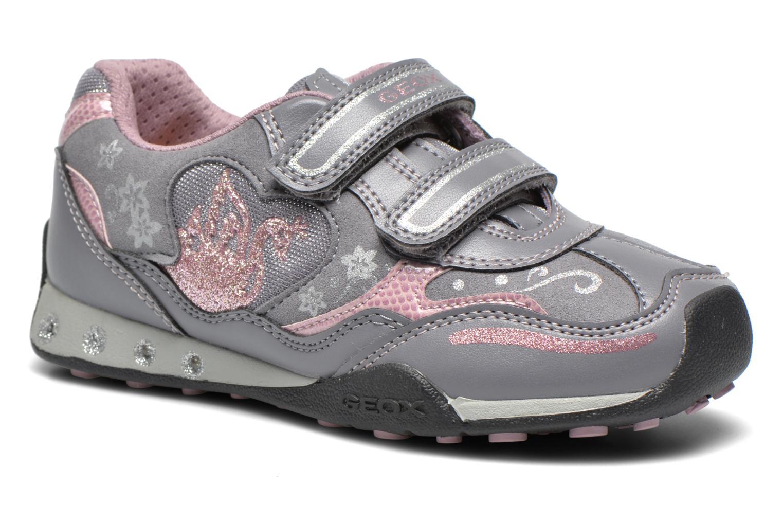 Sneaker Geox J N.Jocker G grau detaillierte ansicht/modell