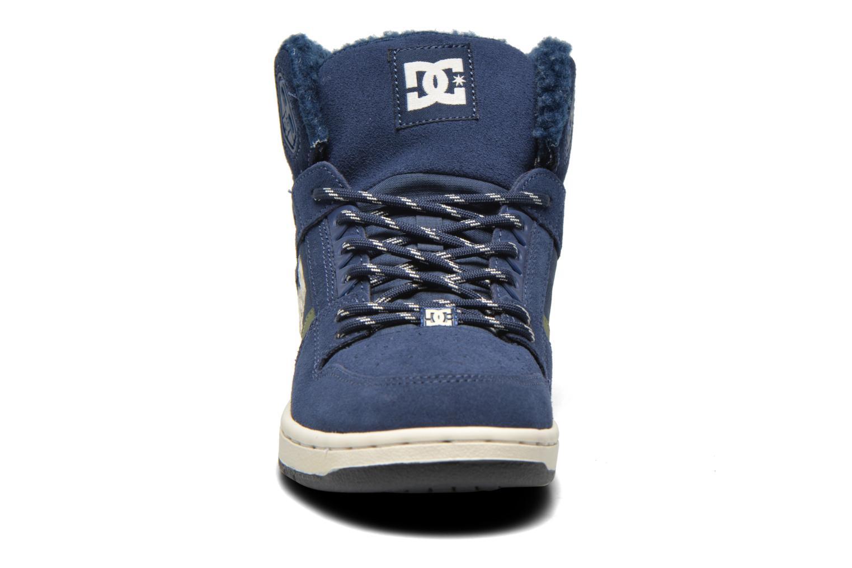 Baskets DC Shoes Rebound High WNT Bleu vue portées chaussures