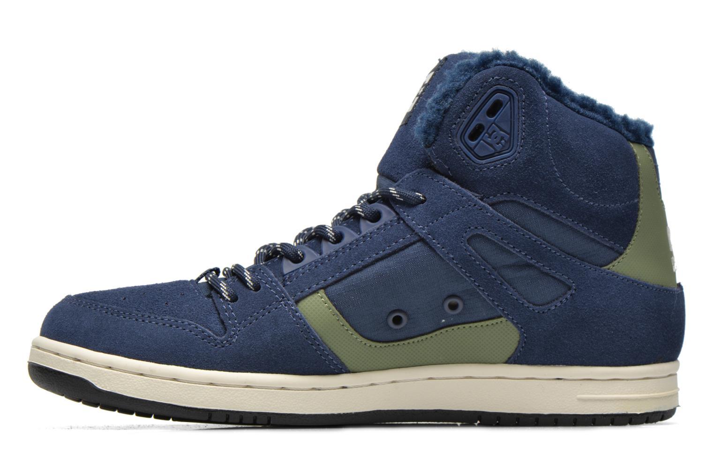 Deportivas DC Shoes Rebound High WNT Azul vista de frente