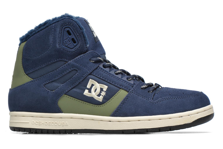 Deportivas DC Shoes Rebound High WNT Azul vistra trasera