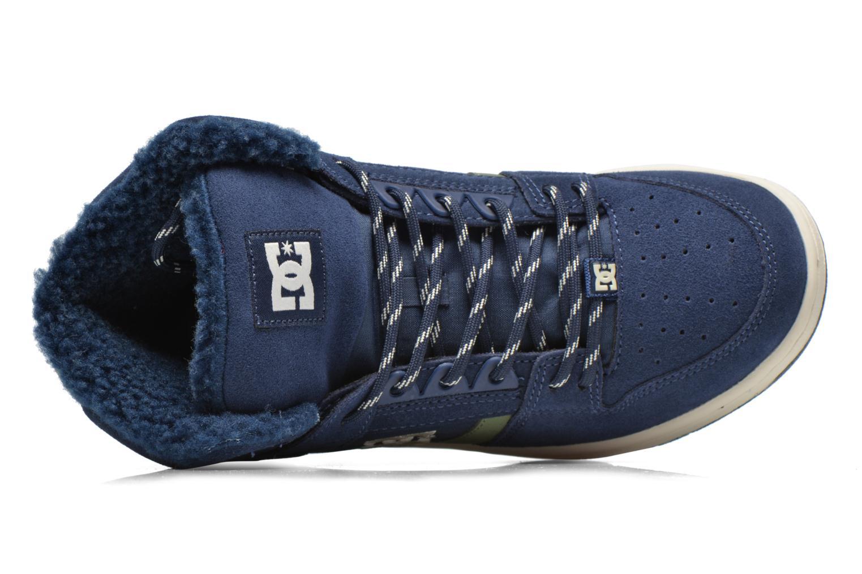 Sneaker DC Shoes Rebound High WNT blau ansicht von links