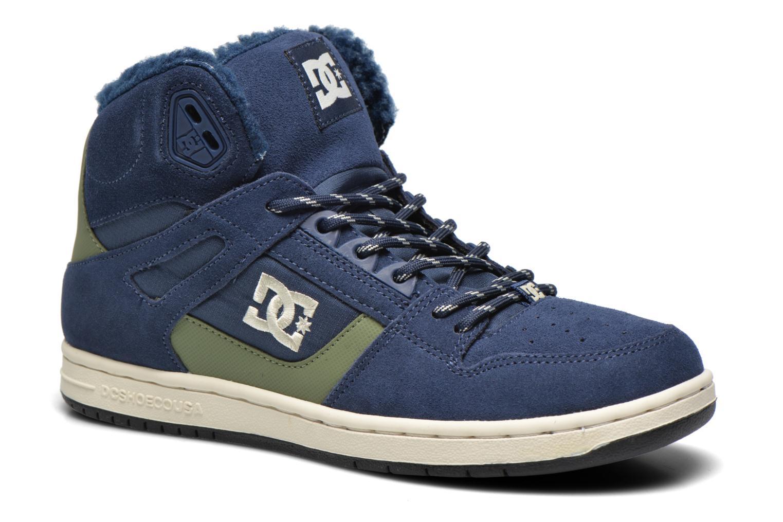 Baskets DC Shoes Rebound High WNT Bleu vue détail/paire