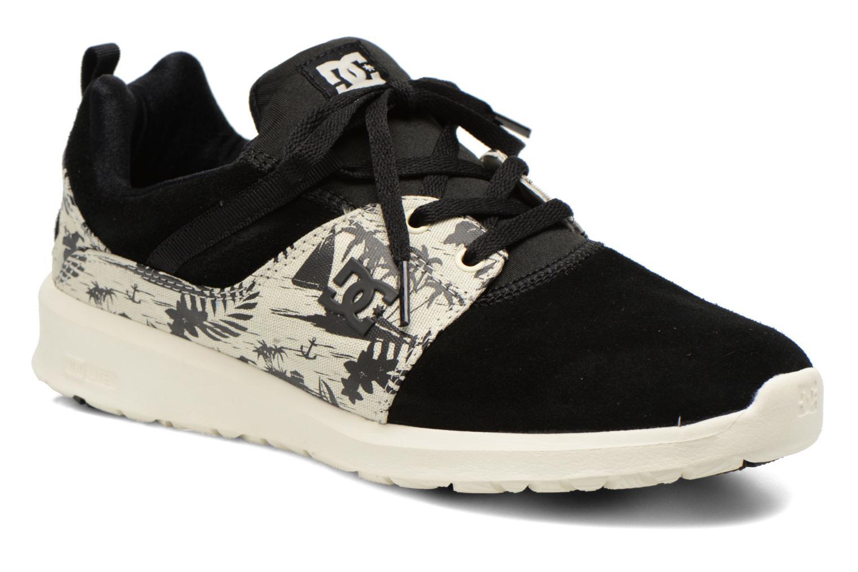 DC Shoes HEATHROW SE Black/White/Printed Men Shoes