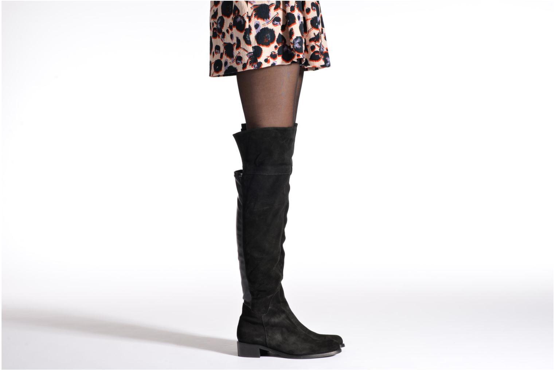 Stiefel Georgia Rose Liovanca schwarz ansicht von unten / tasche getragen