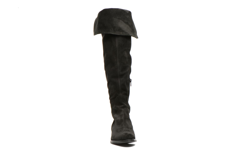 Bottes Georgia Rose Liovanca Noir vue portées chaussures