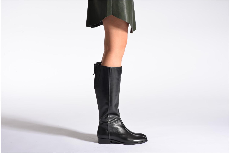 Stiefel Geox D LOVER C D540CC schwarz ansicht von unten / tasche getragen