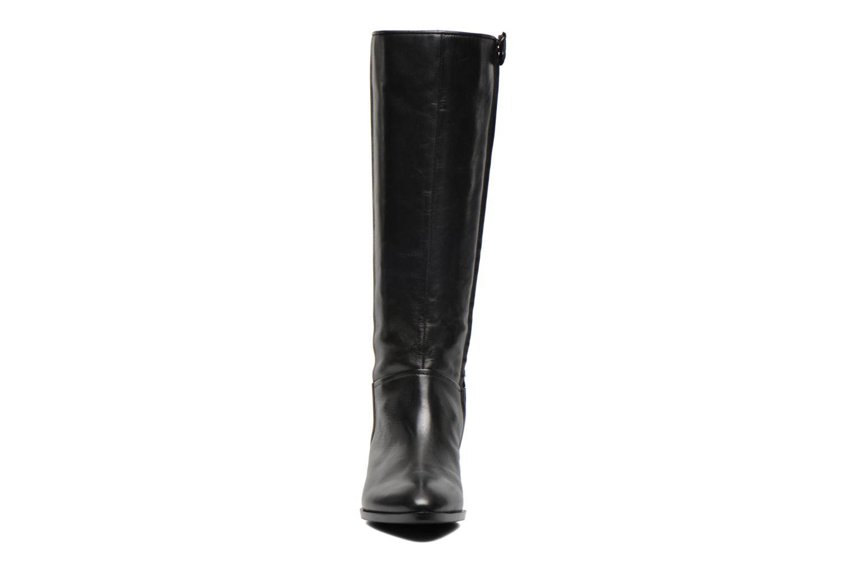 Bottes Geox D LOVER C D540CC Noir vue portées chaussures