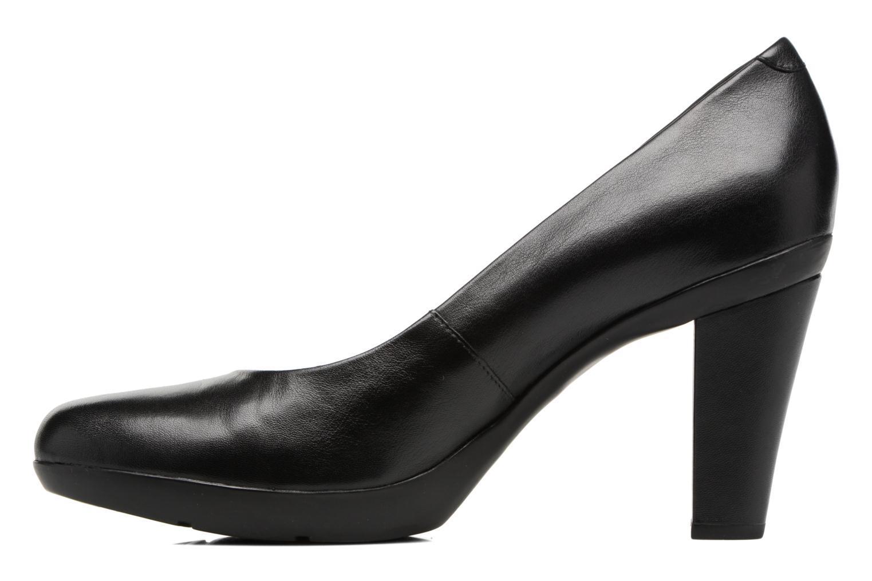 High heels Geox D INSPIRATION C D54R4C Black front view
