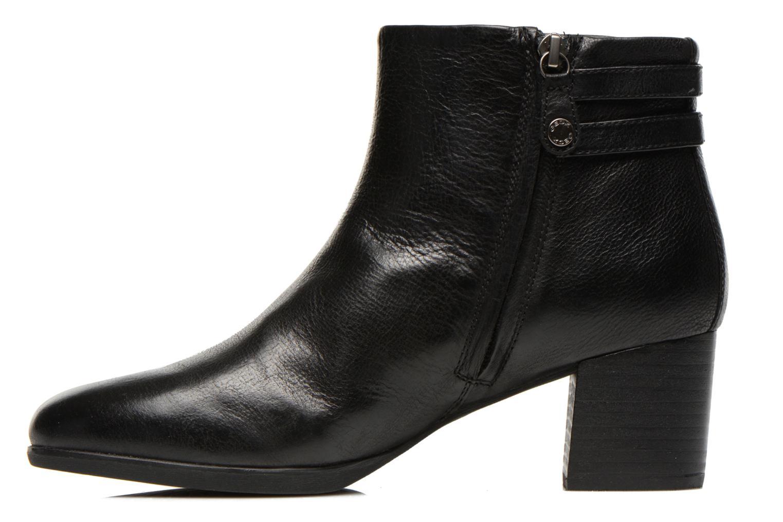Bottines et boots Geox D ERIKAH B D54G8B Noir vue face