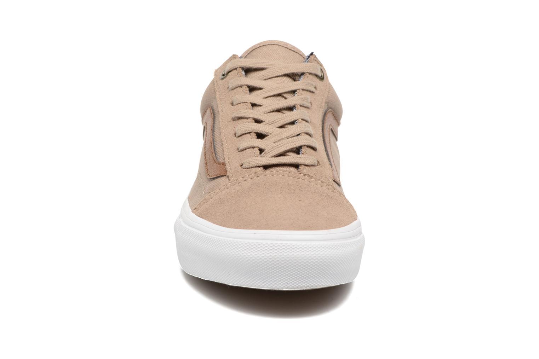 Sneakers Vans Old Skool E Marrone modello indossato