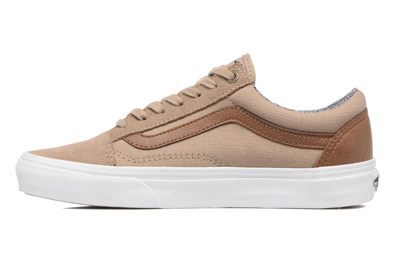 Sneakers Vans Old Skool E Marrone immagine frontale