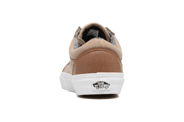 Sneakers Vans Old Skool E Marrone immagine destra