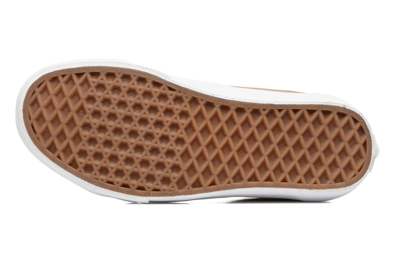 Sneakers Vans Old Skool E Marrone immagine dall'alto