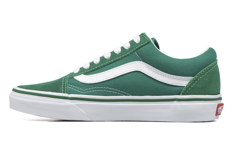 Sneakers Vans Old Skool E Verde immagine frontale
