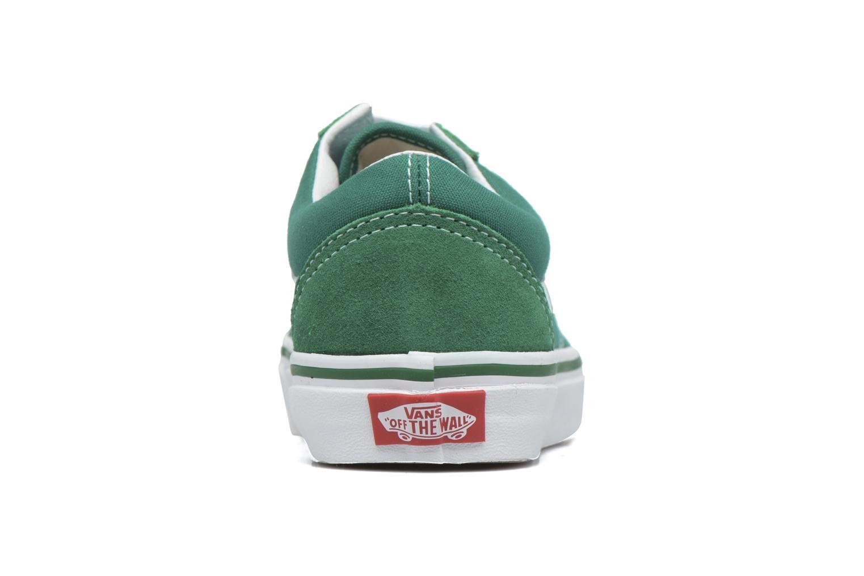 Baskets Vans Old Skool E Vert vue droite