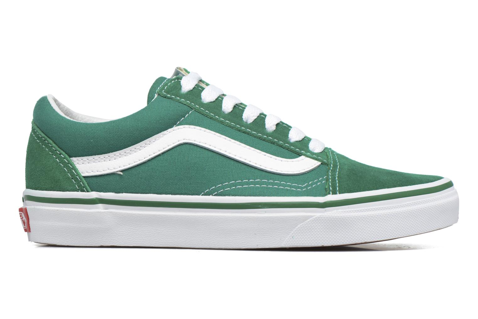 Old Skool E (Suede/Canvas) Ultramarine Green/True White