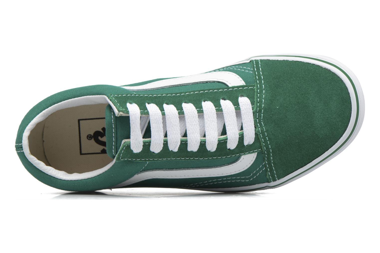 Sneaker Vans Old Skool E grün ansicht von links