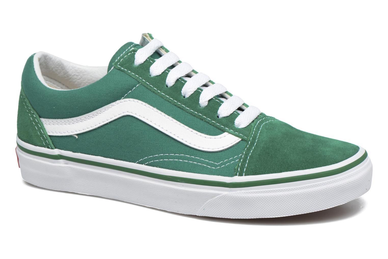 Old Skool E (Suede/Canvas) Ultramarine Green/True White