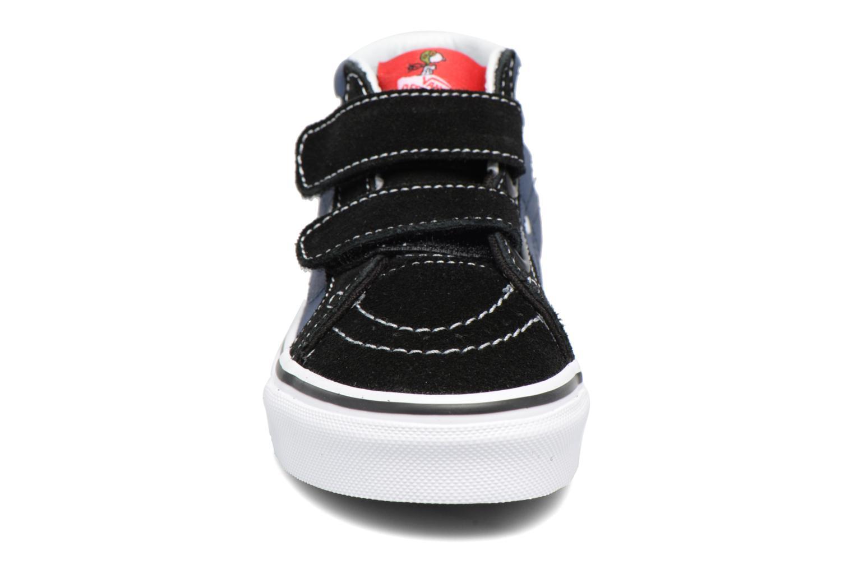 Sneaker Vans SK8-Mid Reissue V blau schuhe getragen