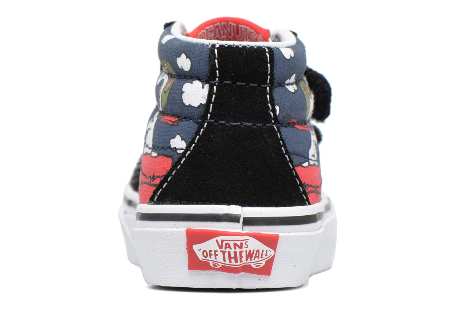 Trainers Vans SK8-Mid Reissue V Blue view from the right