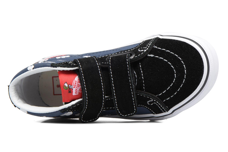 Sneakers Vans SK8-Mid Reissue V Blauw links
