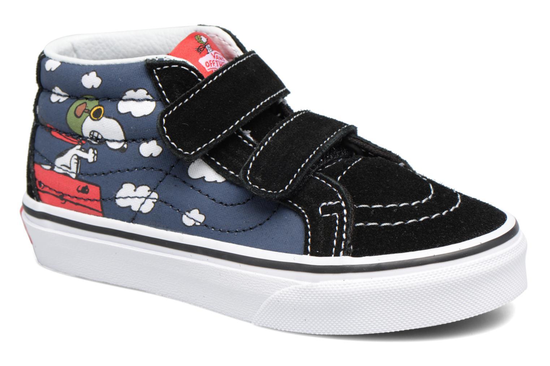 Sneakers Vans SK8-Mid Reissue V Blauw detail