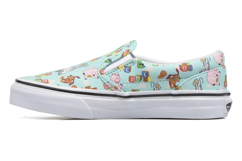 Sneaker Vans Slip-On blau ansicht von vorne